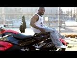 Hannibal for King - Training on motorbike
