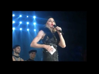 Madonna's speech about Pussy Riot\ Речь Мадонны о Пусси Райот\ Moscow 07.08.12