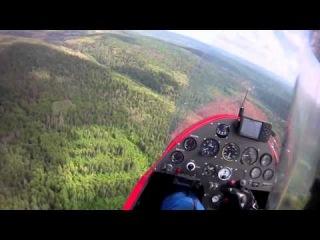 Перелет автожира через Воробьиные горы
