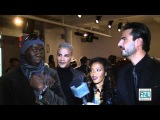 Angela Simmons,  Miss J, and Jay Manuel at Mercedes-Benz New York Fashion Week Fall/Winter 2012