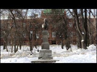 Пенза. Памятник М.Ю. Лермонтову в сквере. 16.02.2013