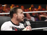Contract signing CM Punk vs John Cena at Summerslam 2011 for the undisputed wwe champ