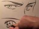 Как рисовать глаза в стиле манга: мужские и женские