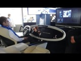 Futuristic vehicle interface with a predictive direct and gesture based input system #DigInfo