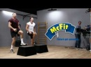 Виталий и Владимир Кличко фитнес тренировка в McFit