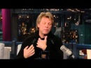 Jon Bon Jovi on Late Show with David Letterman 12202012