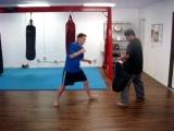 Donnie B. - Muay Thai Driving Kick