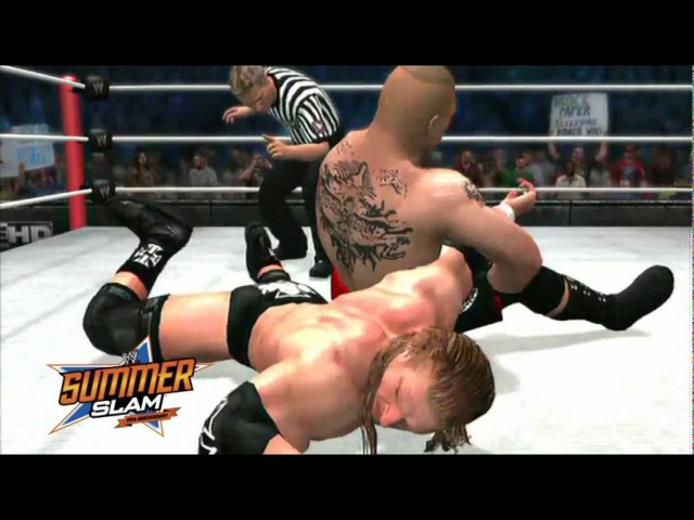 WWE SummerSlam 2012 Highlights - WWE'12 Simulation