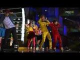 111231 DongHae & EunHyuk ft.SHINee - Oppa, Oppa [HD] 2011 MBC Gayo Daejun