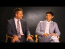 Emily Owens M D Justin Hartley and Michael Rady Interview Part 1
