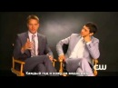 Emily Owens M D Justin Hartley and Michael Rady Interview русские субтитры