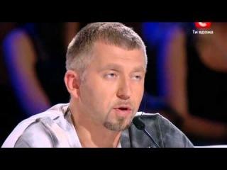3 сезон 4 выпуск Х-фактор - кастинг в Днепропетровске (эфир 22.09.2012)