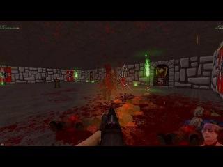 Letsplay Brutal Doom Coop! Secret Level 31