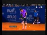 Rafael Nadal vs. Nicolas Almagro SemiFinal ATP Acapulco 2013 - Nadal Serving for the Match