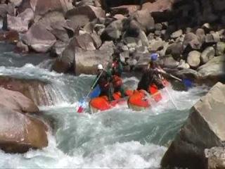 Rafting on the Kokomeren river (Malyi Naryn), Kyrgyzstan(Кекемерен-Киргизия)