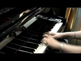 Simple piano melody -