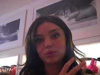 Victoria's Secret Model Interview: Miranda talks about Heavenly Flowers Perfume Launch