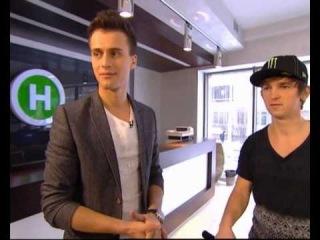 Adam Kun at Novy TV Channel