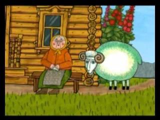 Мультфильм Хуторок - Баран, Пёс, Кот и баба Зина, 1 серия