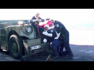 Британские моряки сняли клип на песню Мэрайи Кэри