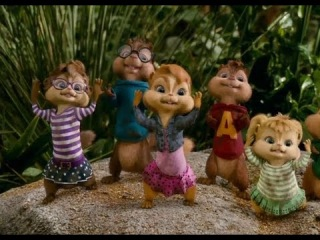 Alvin and the Chipmunks Chip-Wrecked - Bad Romance Dance Scene 2011 (HD)