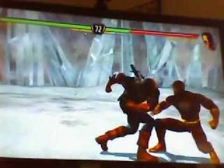 Mortal Kombat The Flash vs Deathstroke