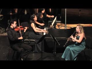 Трио для кларнета скрипки и фортепиано
