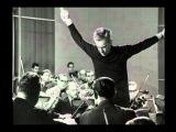 Уникальная запись репетиции 4-й симфонии Шумана, дирижёр - великий Герберт фон Караян.