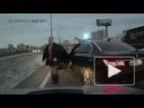 Скандал с мигалкой: VIP-водитель подрезал и обматерил автолюбителя