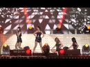 110913 Sistar-So Cool+How Dare You+Ma Boy @KBS Invincible Baseball Field of Dreams