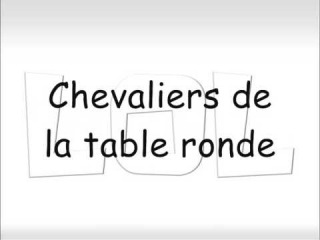 Les Chevaliers De La Table Ronde Biqle