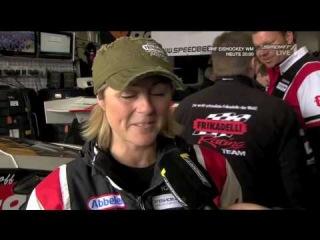 Interview 24h 2010 Frikadelli Racing mit Sabine Schmitz