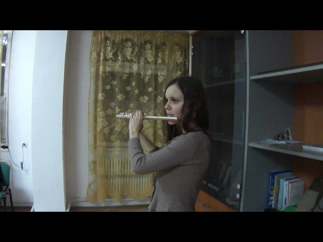 Игра на флейте Ария Оксана Борисова Вёльва