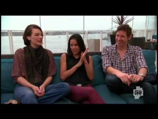Comic Con 2012 Interview : Michelle Rodriguez,Milla Jovovich and Paul Anderson