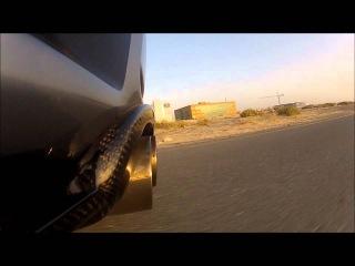 MANHART RACING MH3 Biturbo V8R Shooting Flames