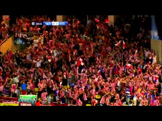 Radamel Falcao HAT-TRICK Atletico vs Chelsea 4-1 European Supercup 31-08-2012
