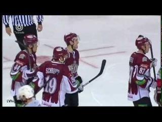 Dinamo Riga - Metallurg Nk 3:1; 15.09.2012