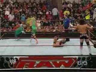 Finlay & Hornswoggle vs Carlito & Santino 6/23/08