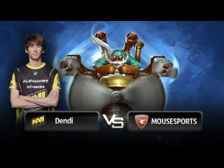 Dendi's Gyrocopter vs mouz @ RaidCall Dota 2 League