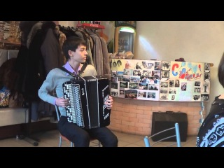 Детство Песня Ю.Шатунова на баяне