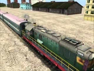 Сессия в Trainz (4 часть).