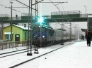 EP09 022 z TLK 13411 relacji Warszawa Wschodnia Krynica