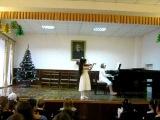 Ригодон, Рамо, скрипка, Русан Иоана, 7 лет