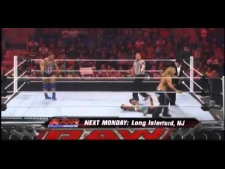 Beth Phoenix and Ricardo Rodriguez vs Layla and Santino Marella - WWE Raw 6/11/12