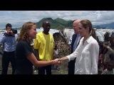 Одно из самых опасных для жизни мест на планете посетила многодетная мать Анджелина Джоли - Первый канал