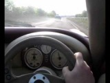 Tvr Cerbera 4.2 accelerating 145 mph + awesome sounds!