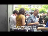 Spartacus' Lucy Lawless, Andy Whitfield Spartacus at Hotel at Comic-Con
