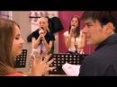 Violetta- Ludmilla e Vilu cantano Te creo.
