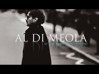 Al Di Meola at the Abbey Road Studio