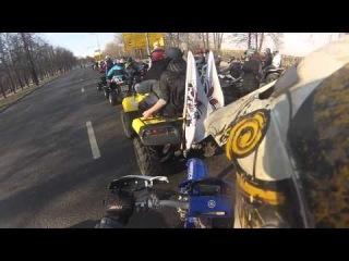 Открытие мотосезона с Crazy Ducks 12.04.2014 (GoPro Hero 3)